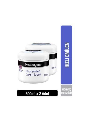 Neutrogena Norveç Formülü Hızlı Emilen Bakım Kremi 300 Mlx 2 Adet Renksiz